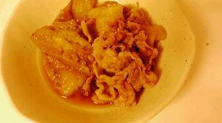 隠し味は生姜焼きのタレ